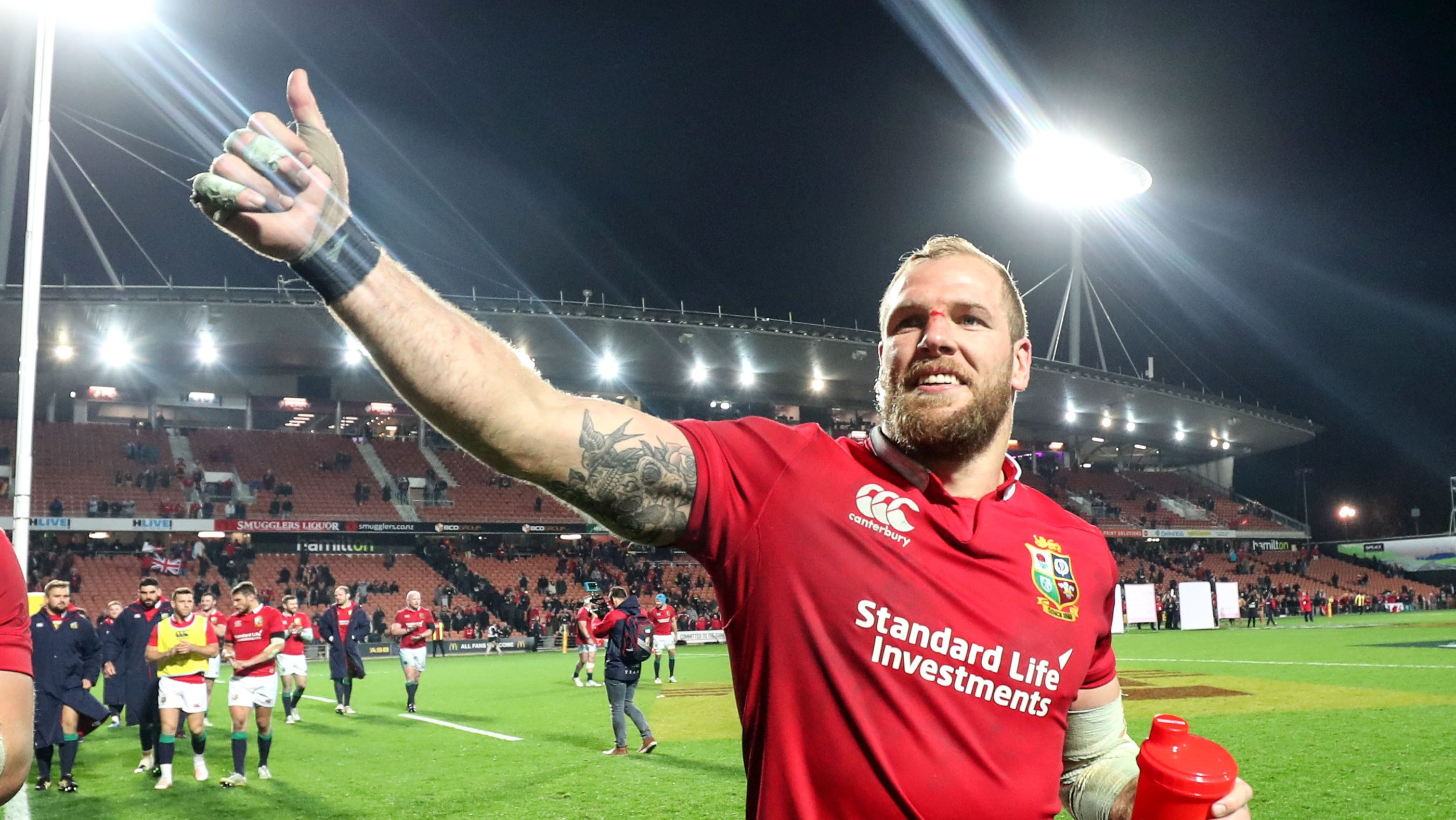 Lion #823 James Haskell to retire at the end of the season