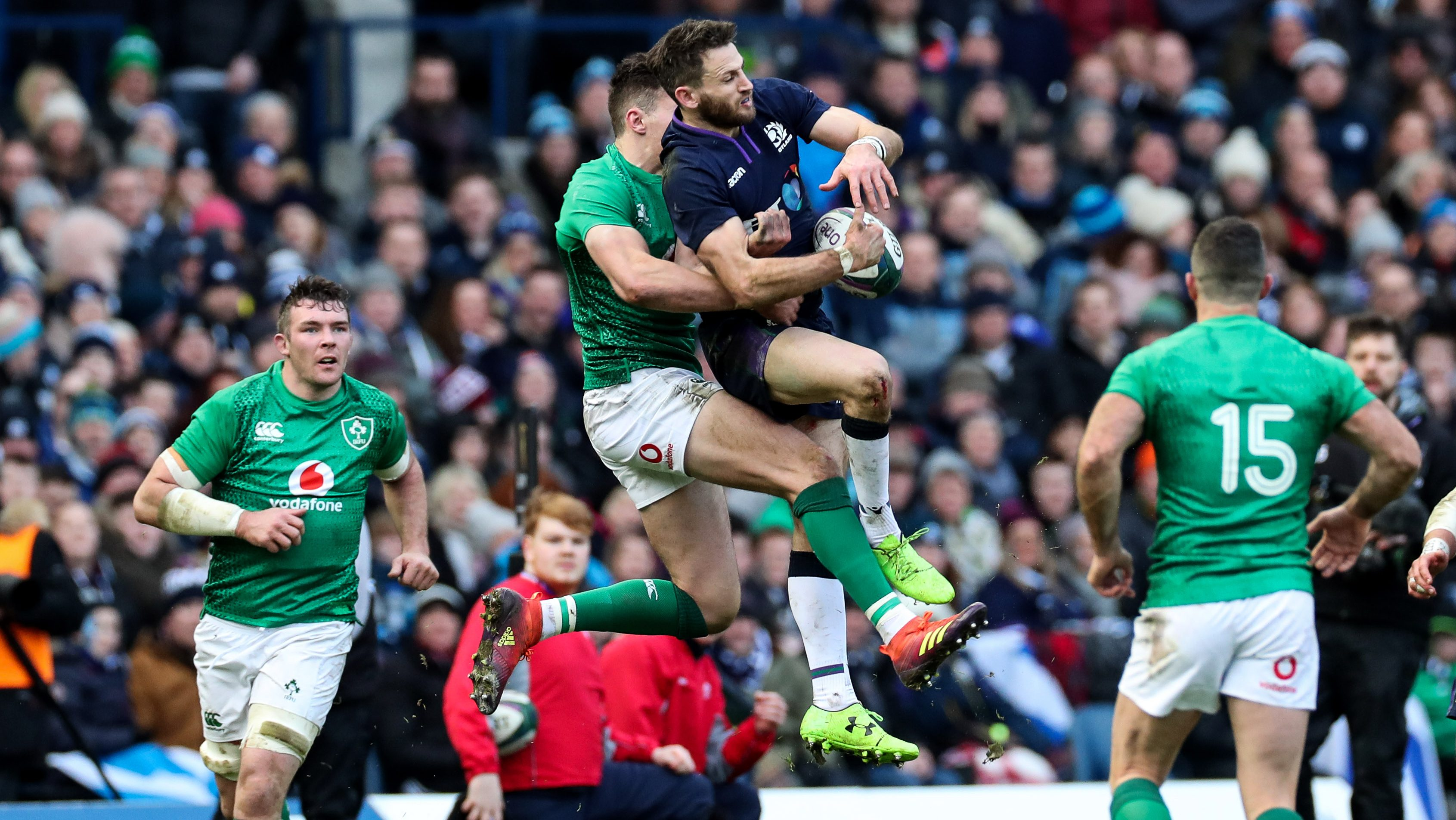 Glasgow Warriors, Ulster, Leinster and Munster compete for final places