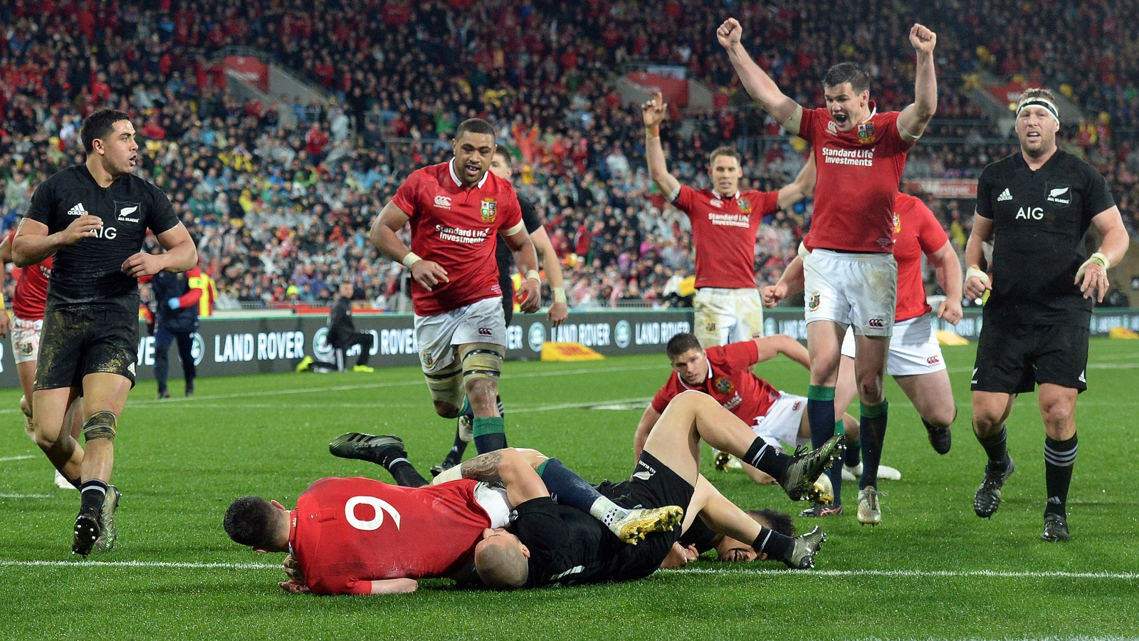 How the Lions roared back against All Blacks in Wellington