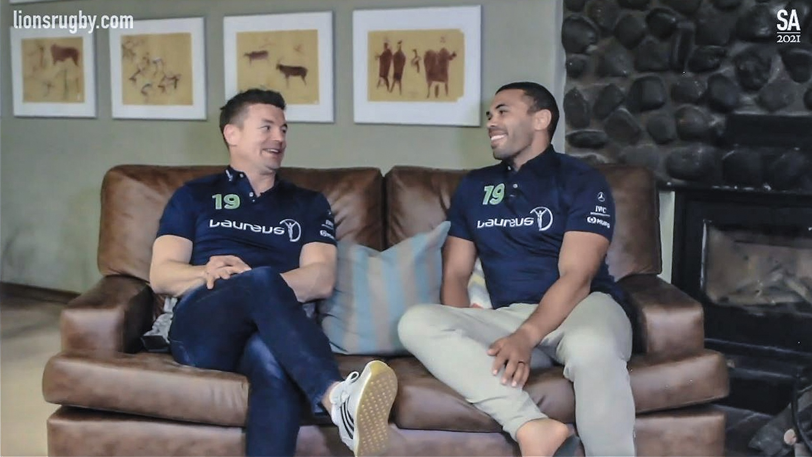 O'Driscoll and Habana run the rule over the epic 2009 Tour