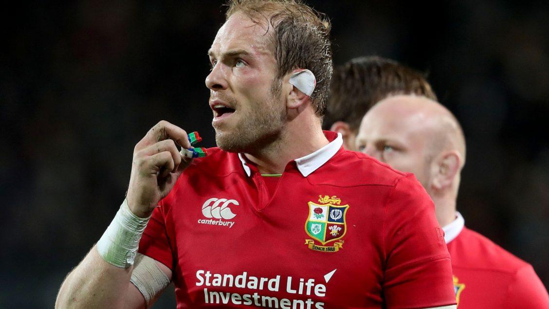 Alun Wyn Jones headlines Welsh team against England