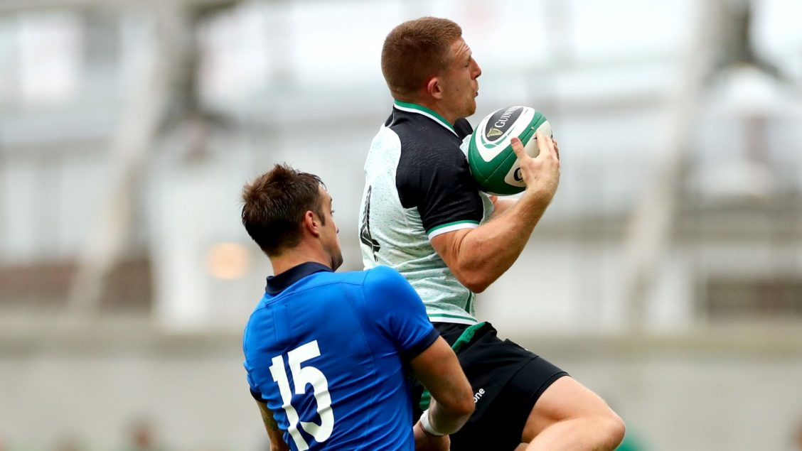 Ireland run in five tries in victory over Italy