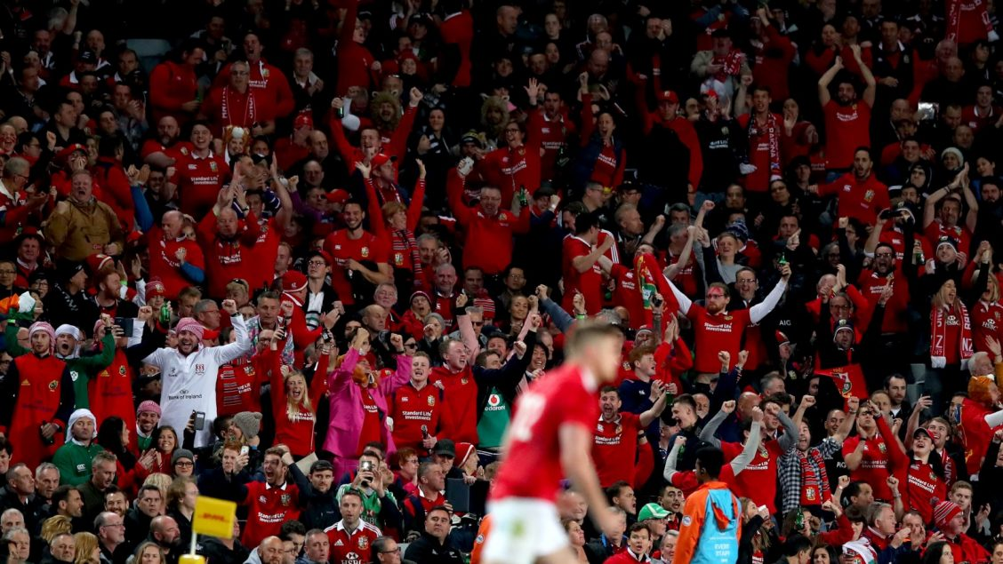 Lions fans urged to join famous 'Sea of Red' for South Africa 2021