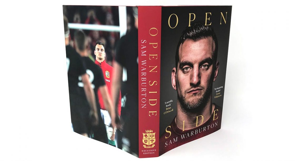Terms and Conditions – A Signed copy of Sam Warburton's Book OPEN SIDE