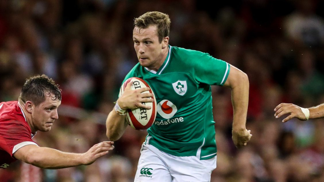 Ireland call on Carty at ten against Japan