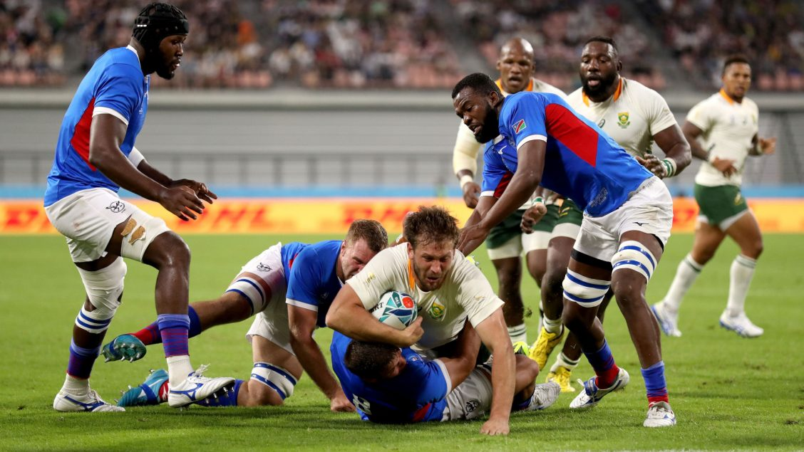 South Africa off the mark in Japan