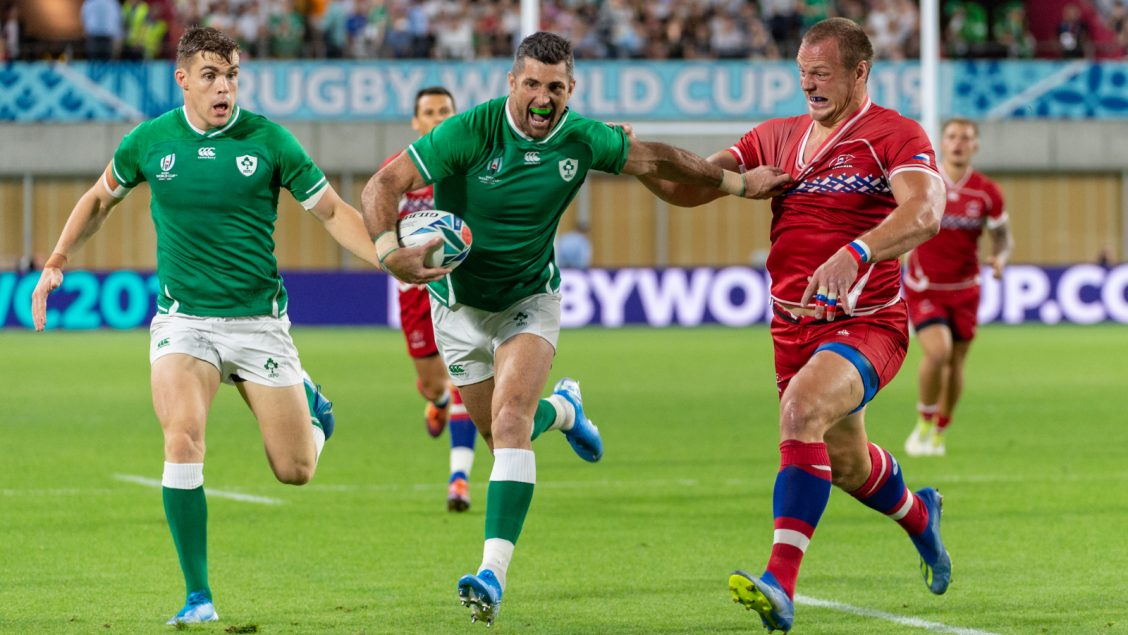 Ireland stay on track with Russia success