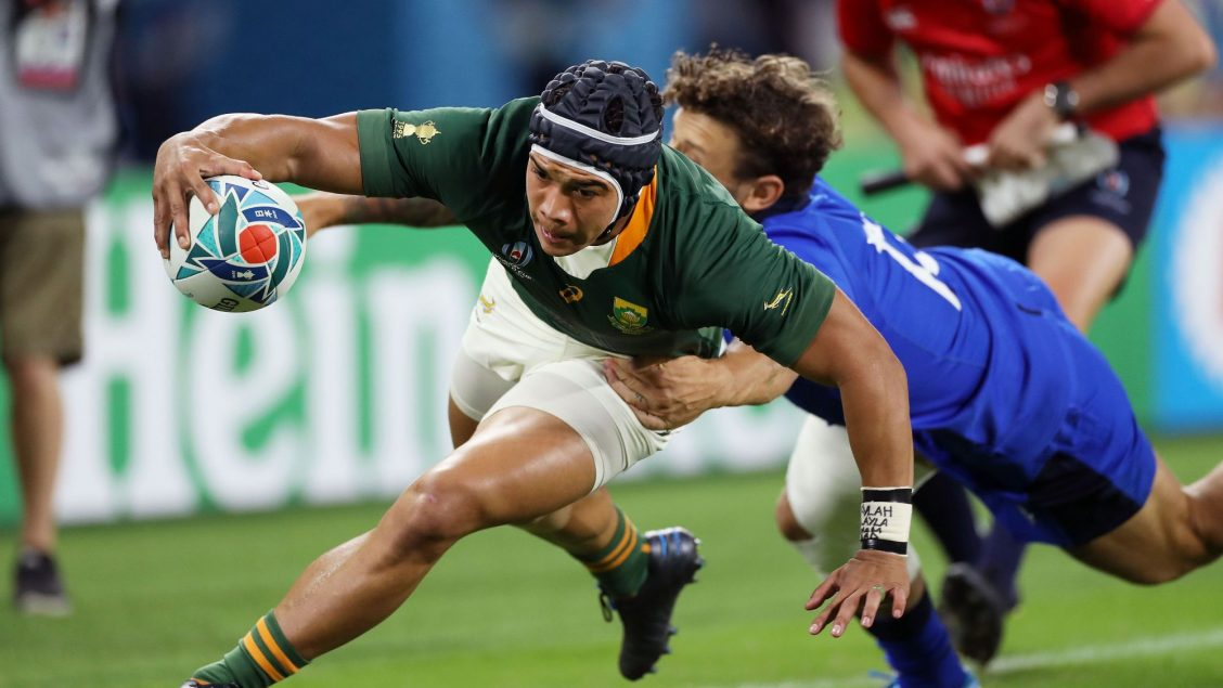 Kolbe returns as Springboks' sole change for England final