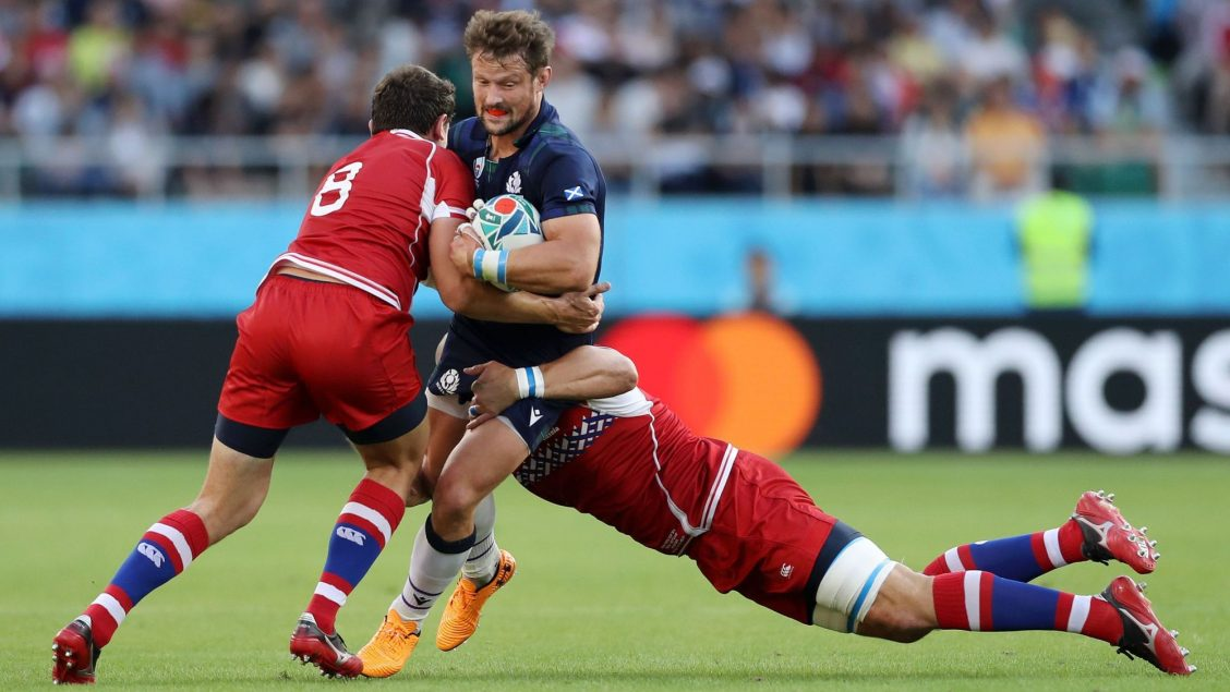 Scotland keep their campaign alive with historic win over Russia