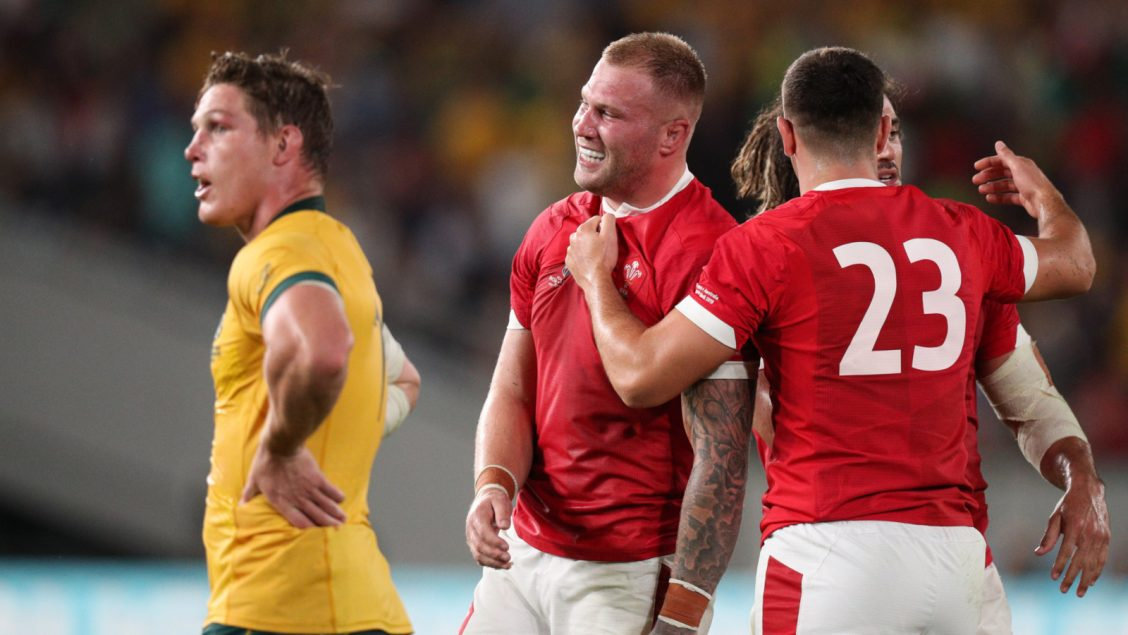Moriarty making up for lost time as Wales see off Fiji