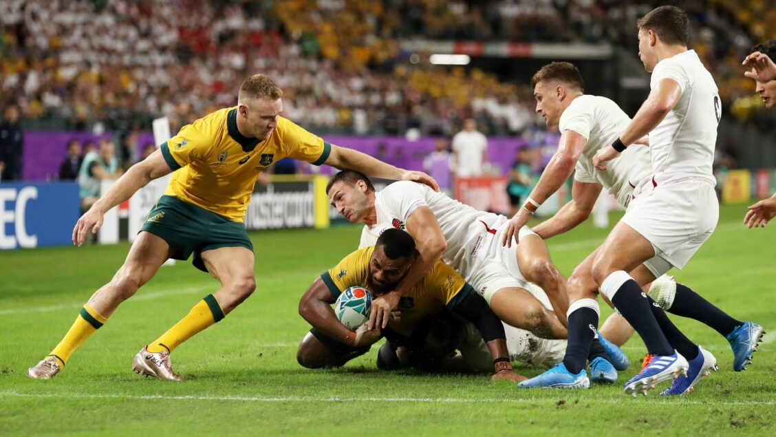 England overpower Wallabies to make semi-finals
