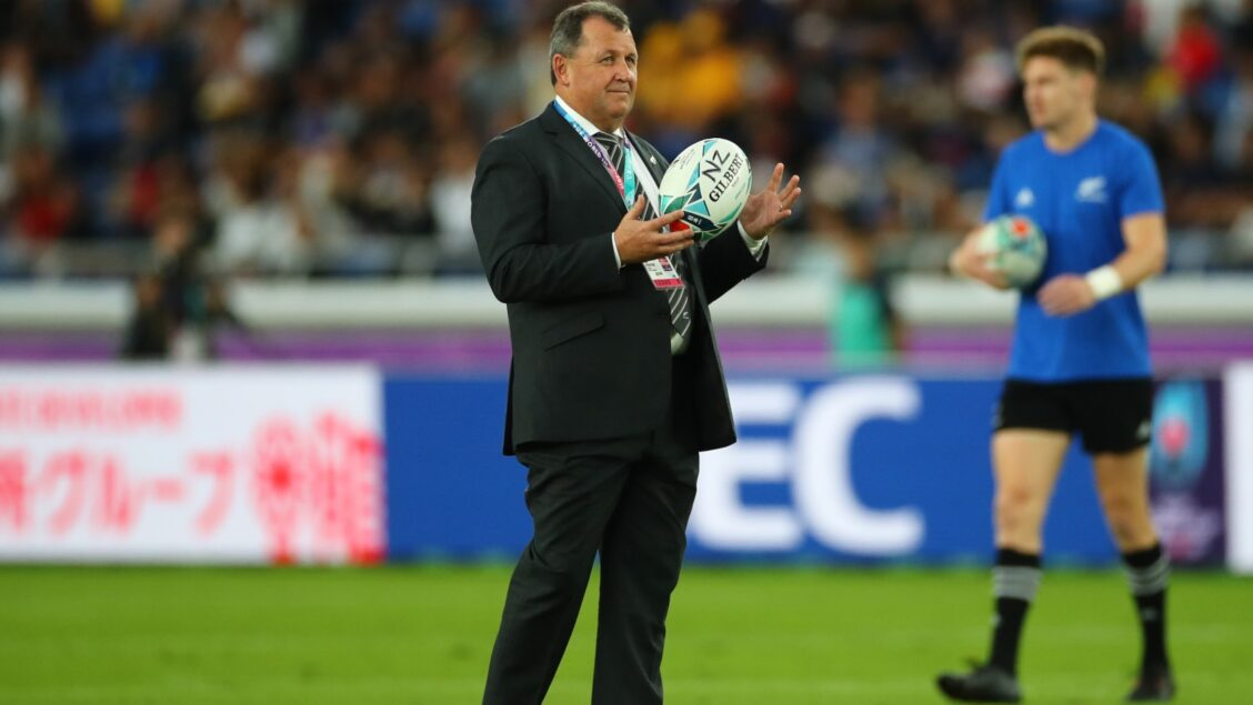 Foster appointed as new All Blacks head coach