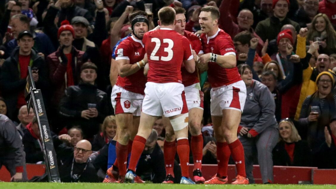 Wales up and running with big win over Italy
