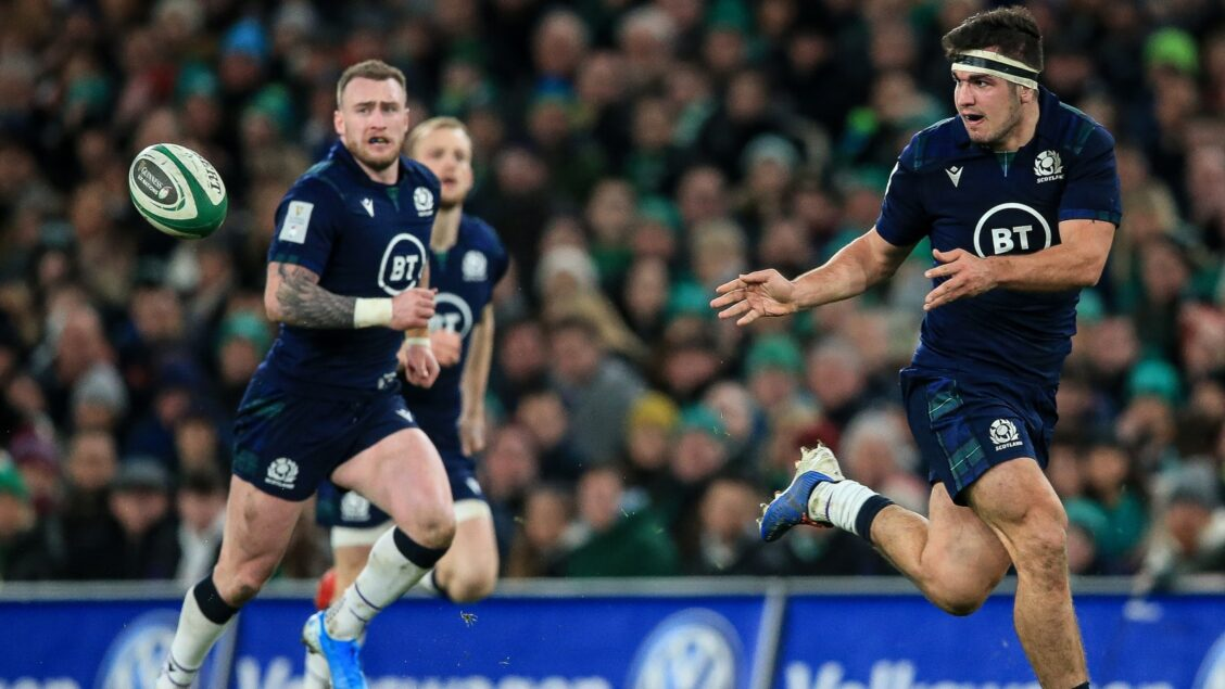 Scotland make three changes for Italy trip
