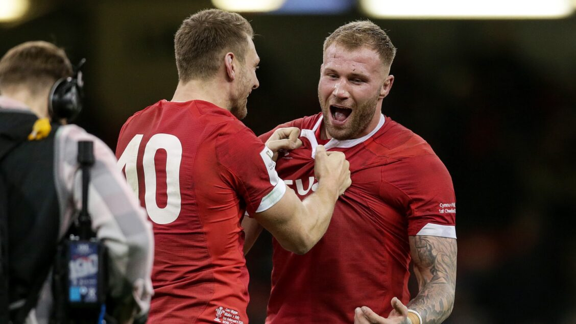 Moriarty and Davies recalled by Wales