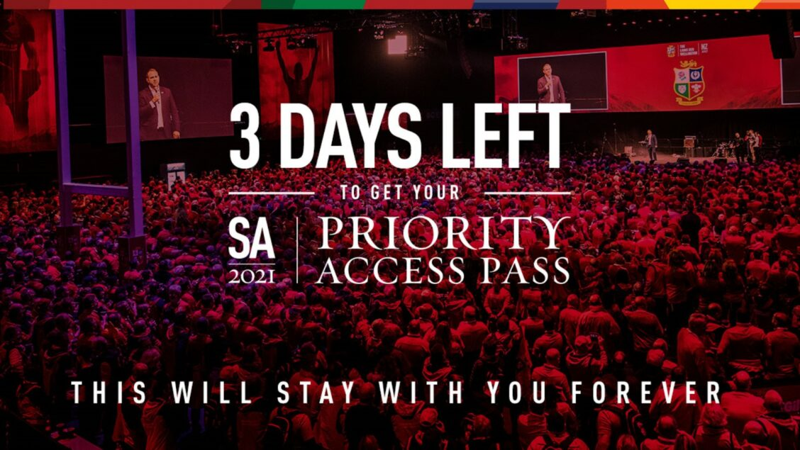 Three days left to sign up for Priority Access Pass