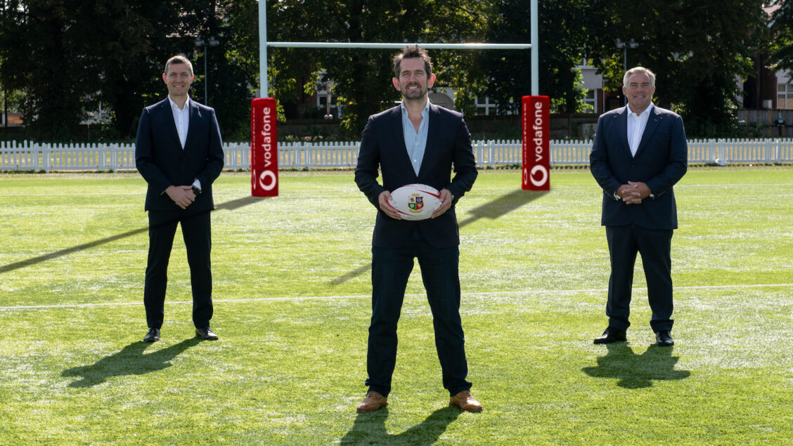 Vodafone to partner with Lions for rugby's greatest adventure