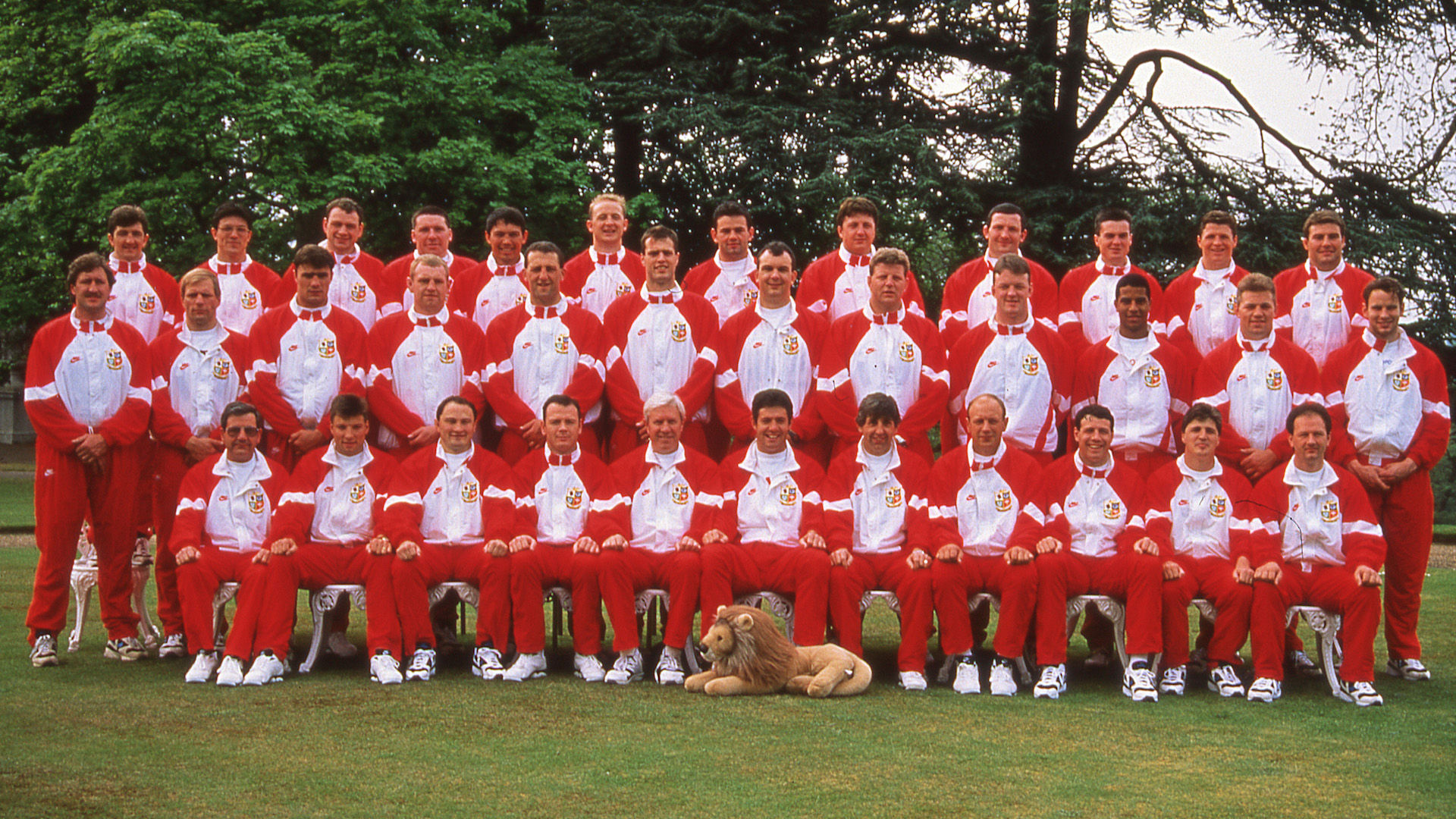 The Lions team photo 1993