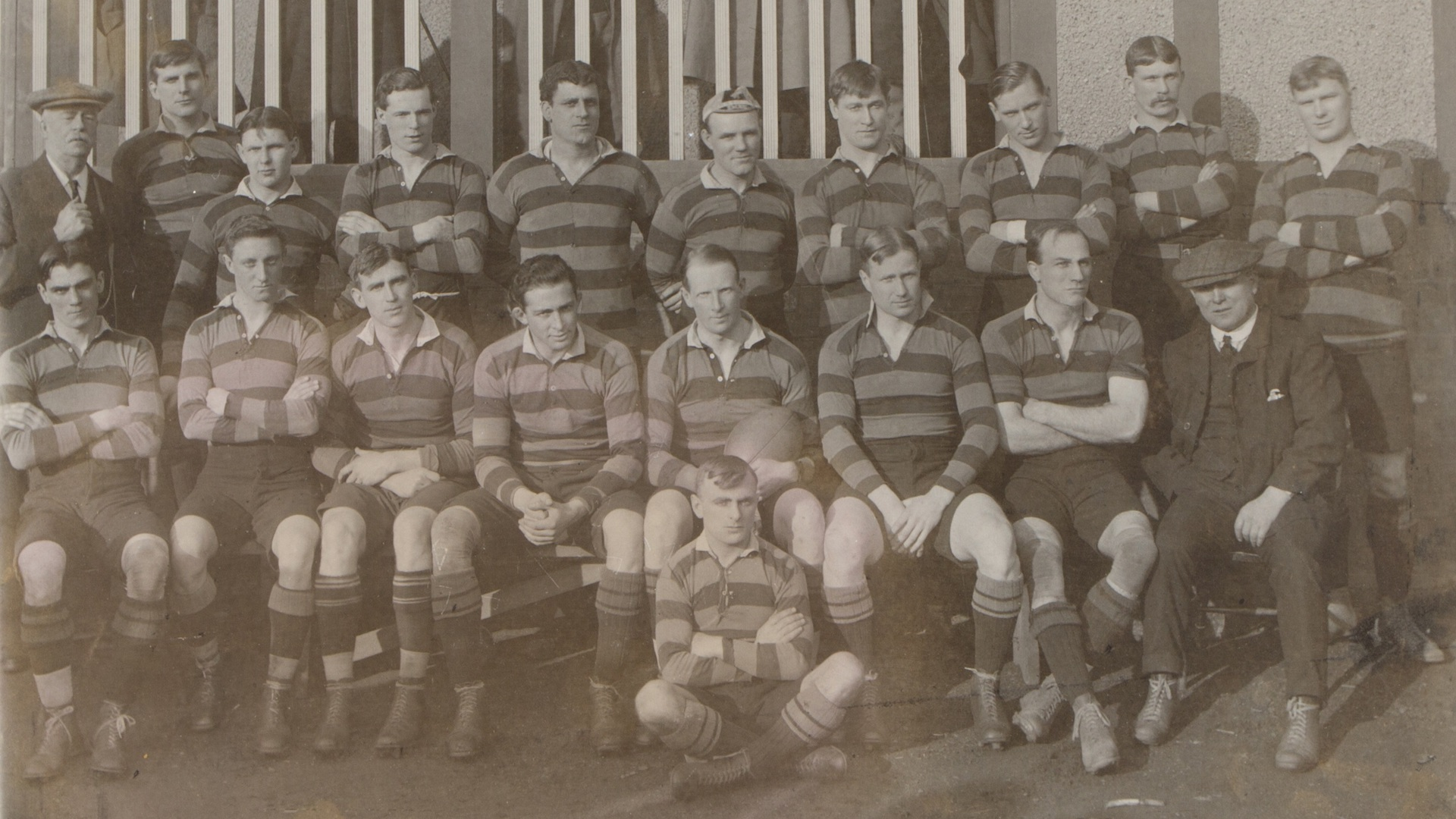 1910-11 Saints team photo