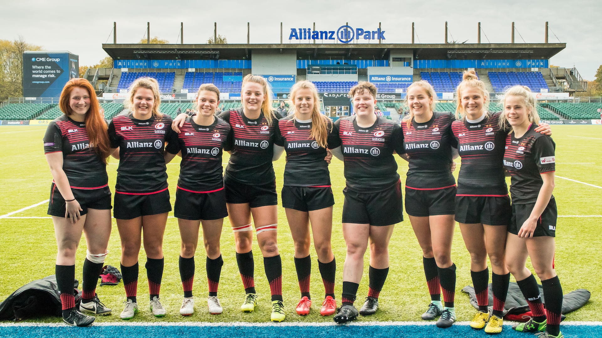 Saracens Women players from Welwyn