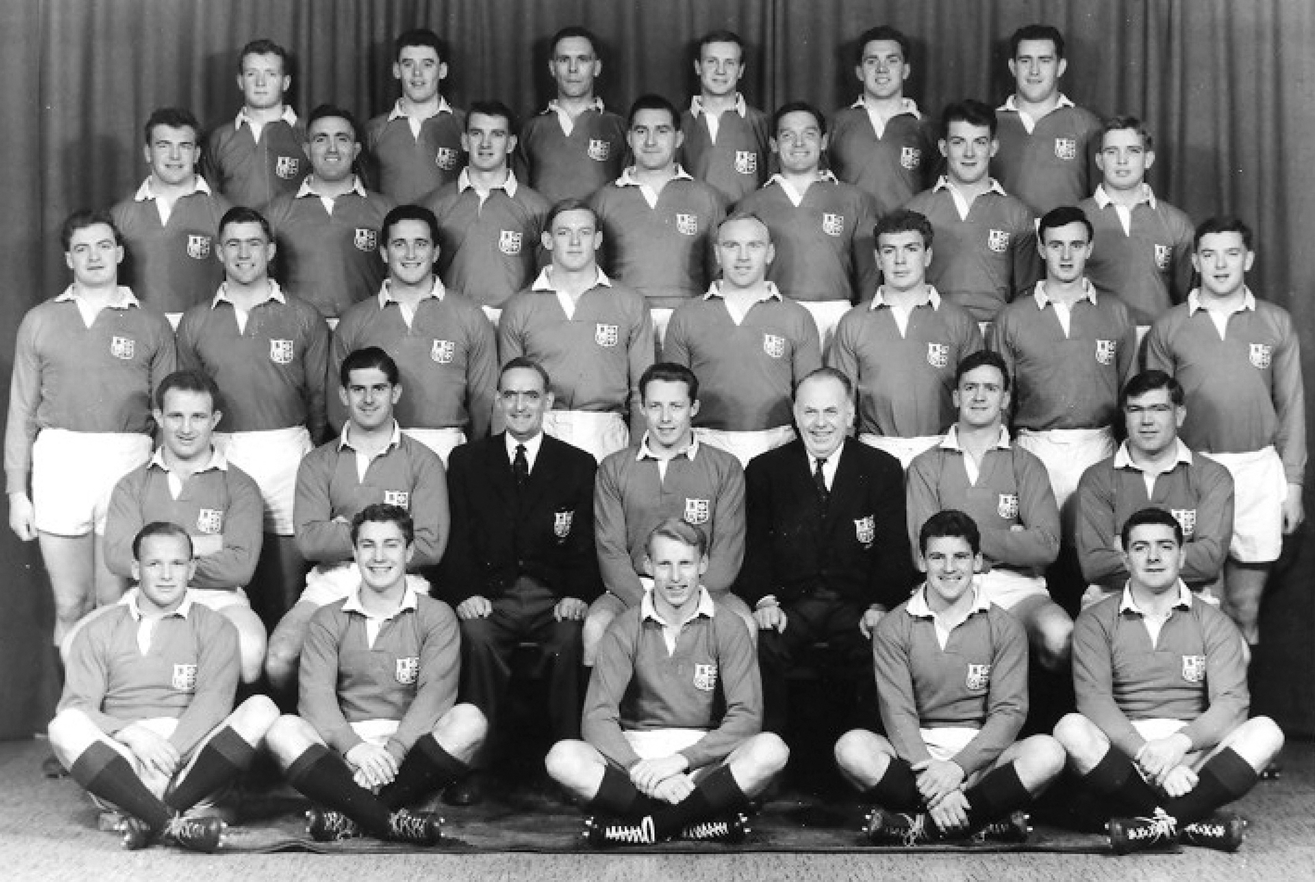 1959 Lions Touring team