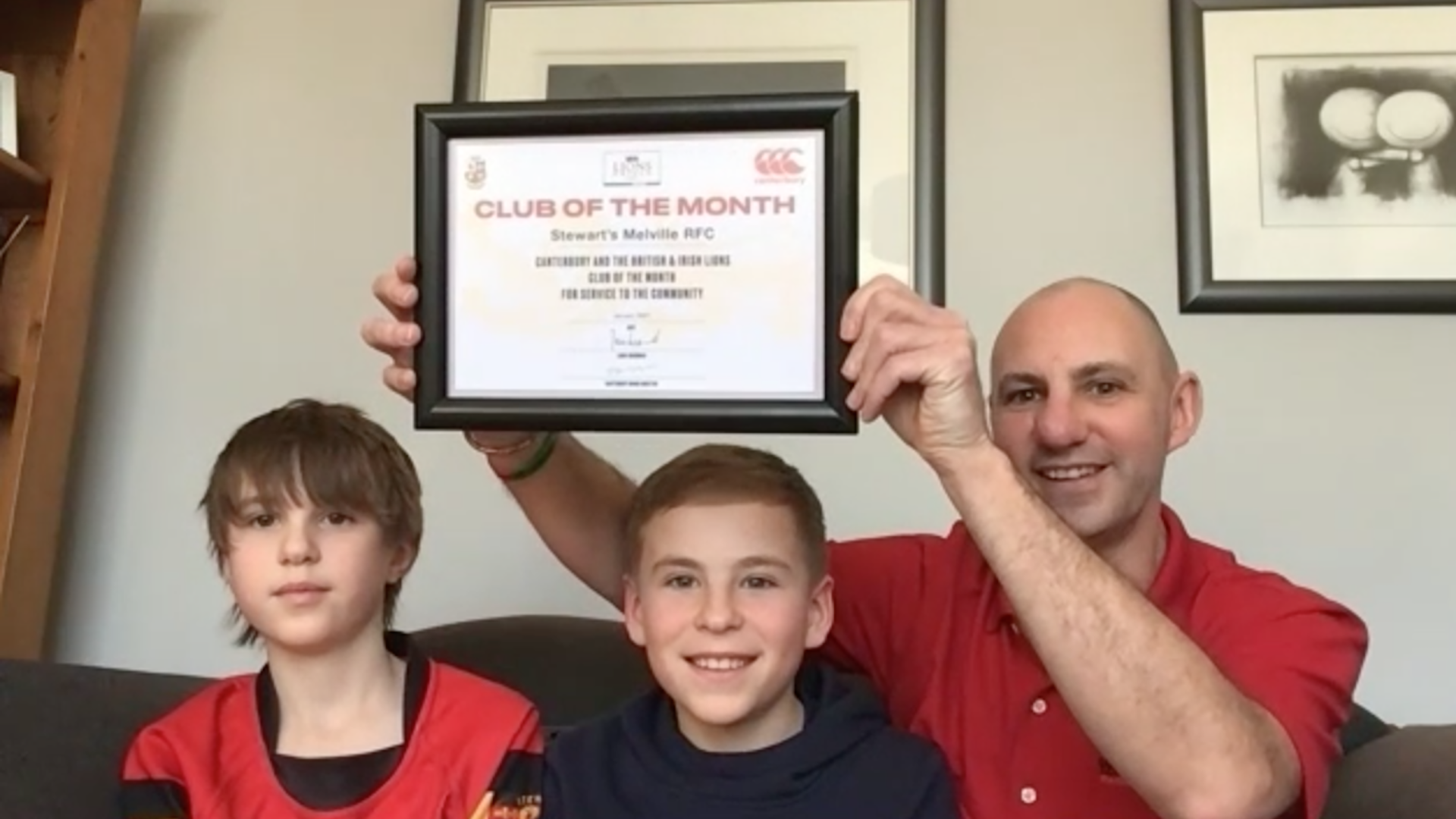 Club of the Month Stewart's Melville