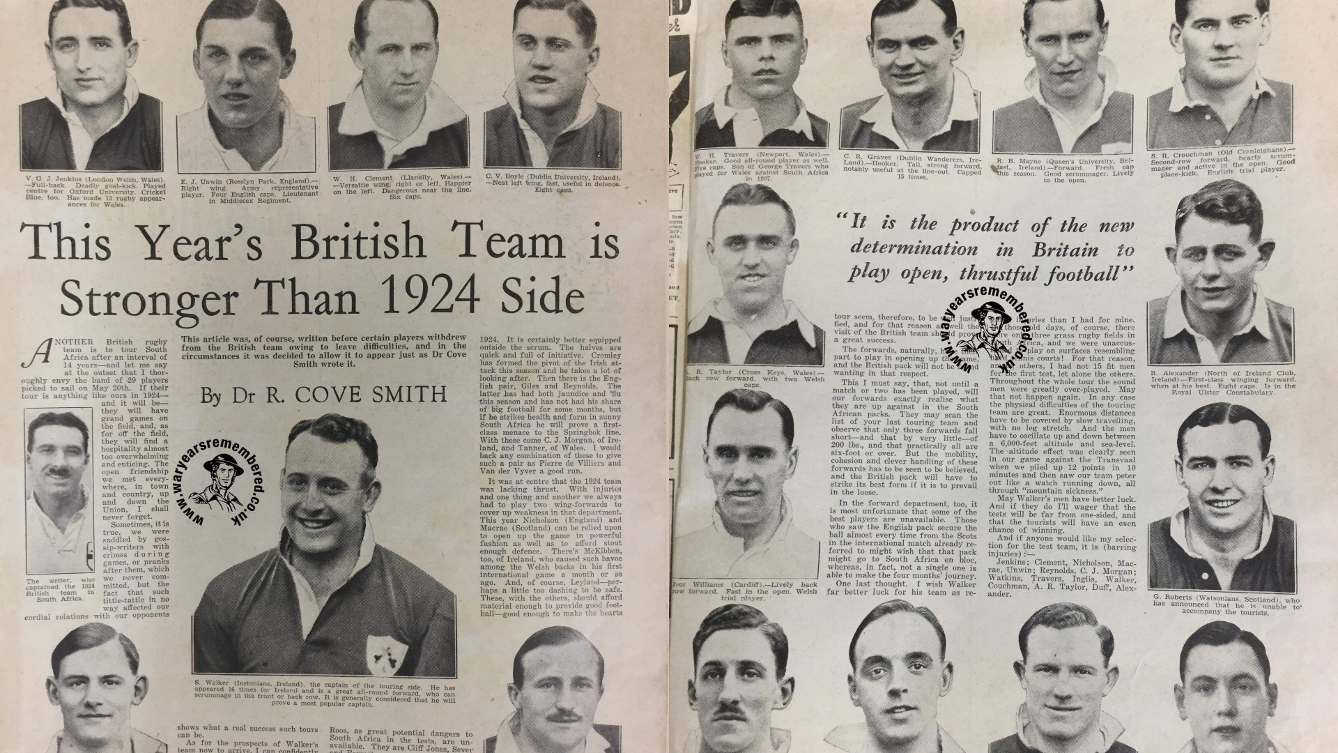 Lions 1938 Clippings