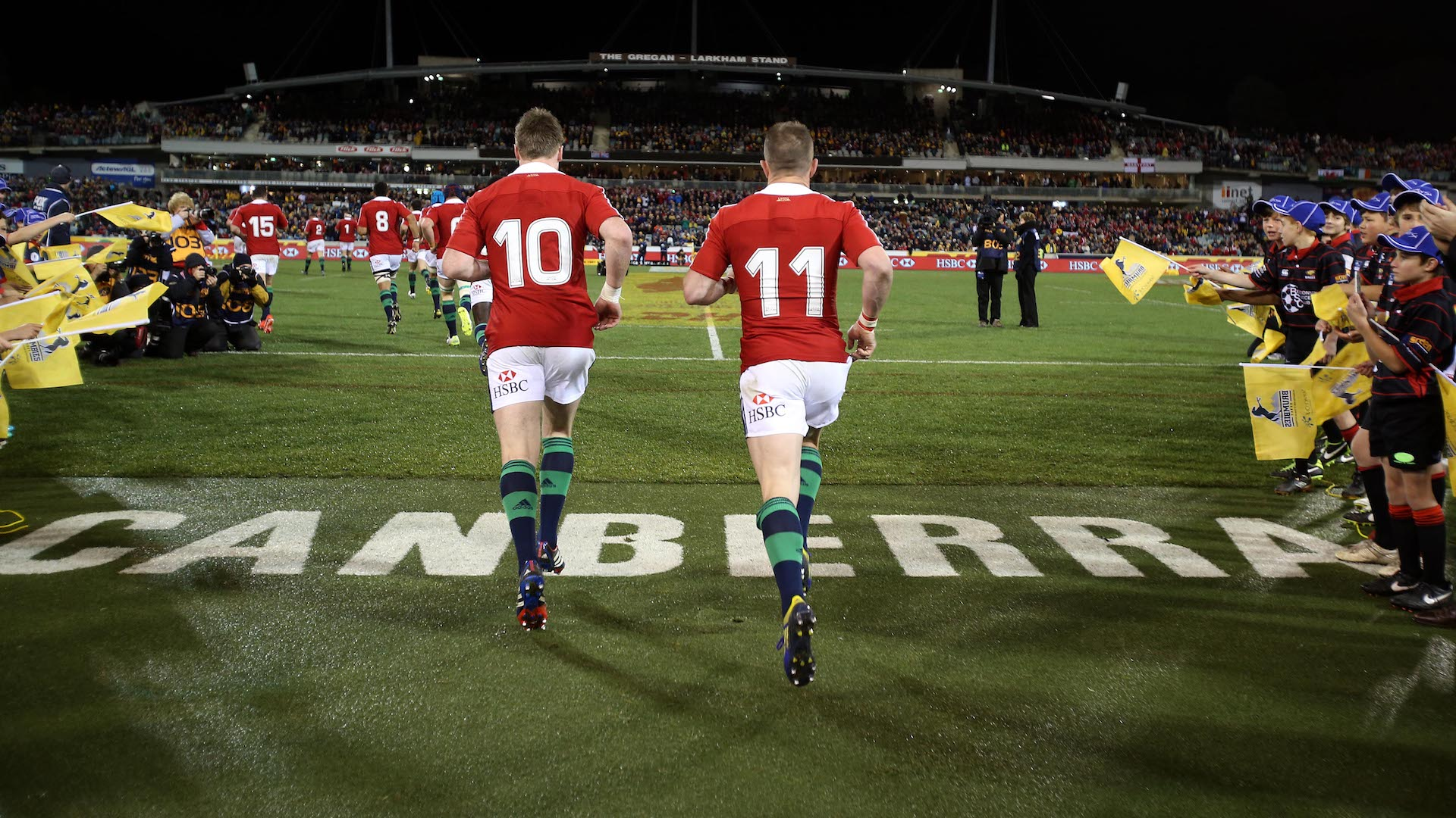 Shane Williams and Stuart Hogg