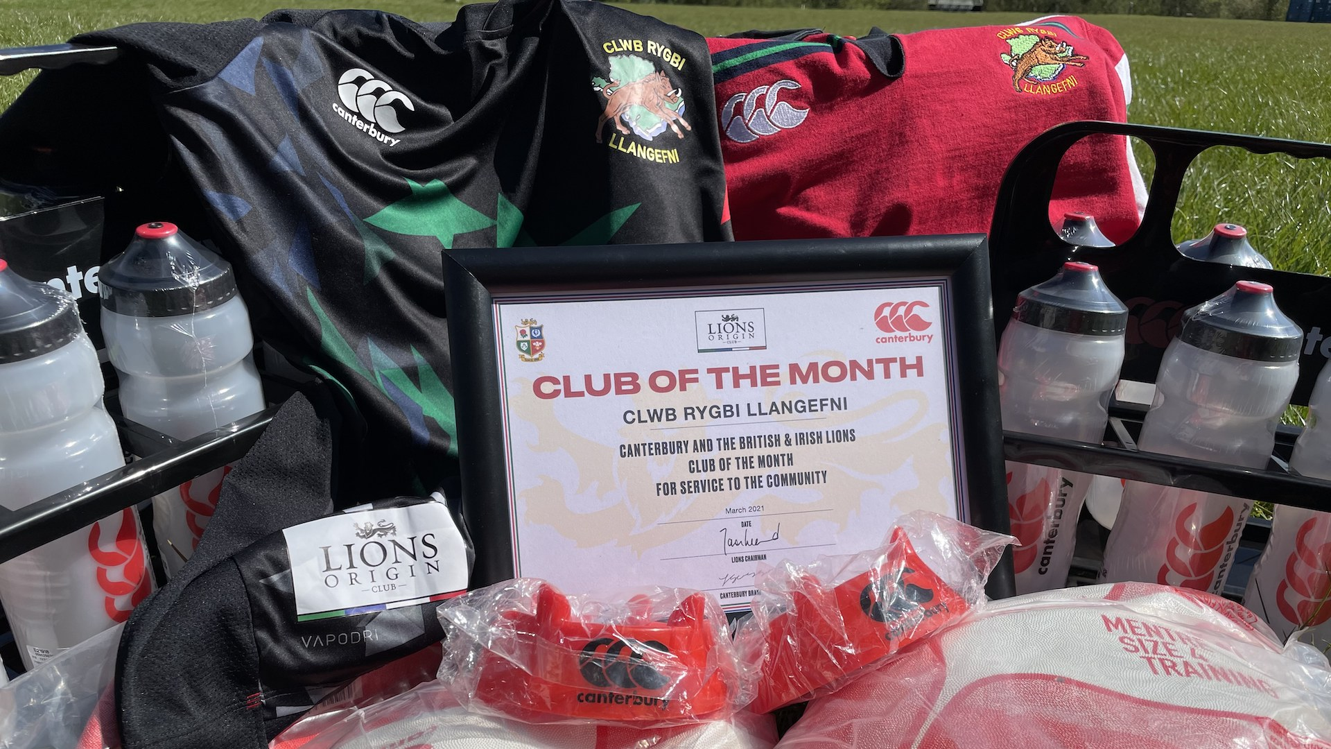 Canterbury prizes