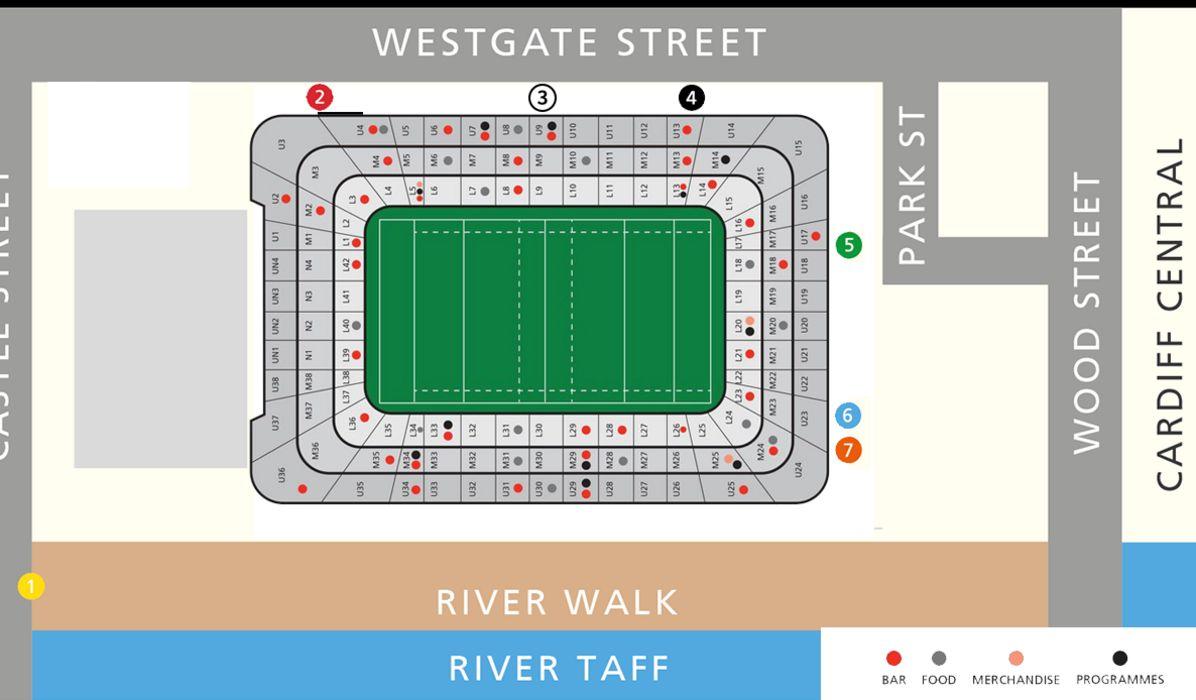 principality stadium seating plan