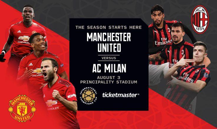 Manchester United v AC Milan