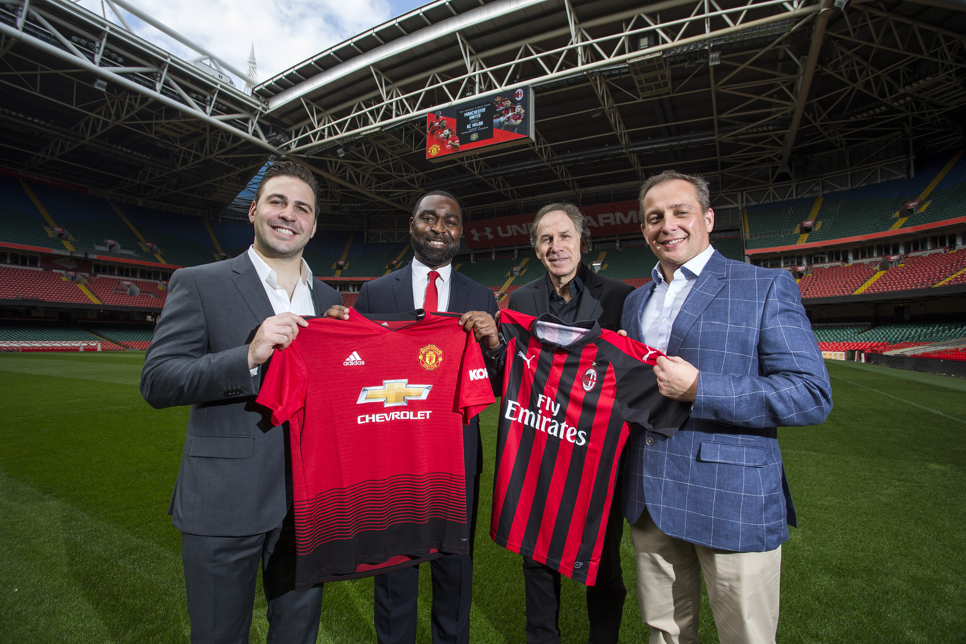 Principality Stadium Cardiff To Host Man United And Ac Milan In Pre Season Fixture
