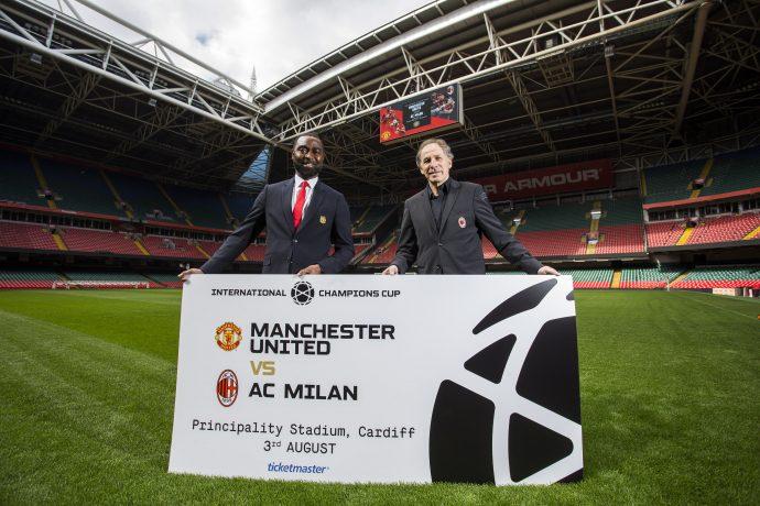 Man Utd v AC Milan tickets