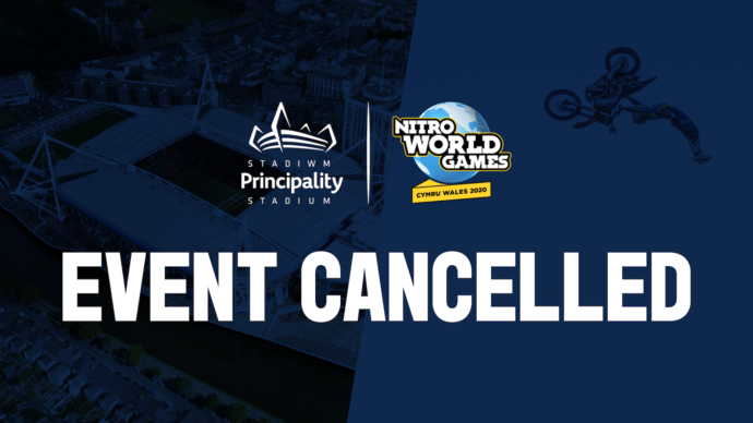 Nitro World Games Wales 2020 Cancelled