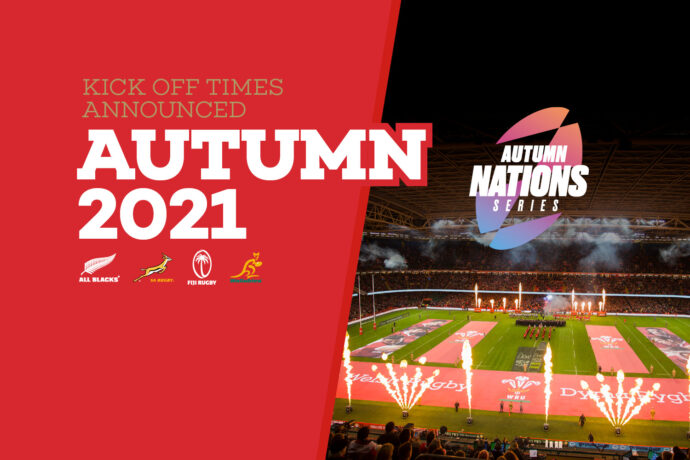 Autumn Nations Series 2021 Kick-off Times