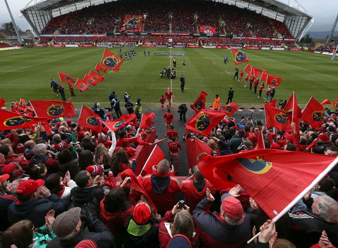 Munster v Scarlets – Match Day Information