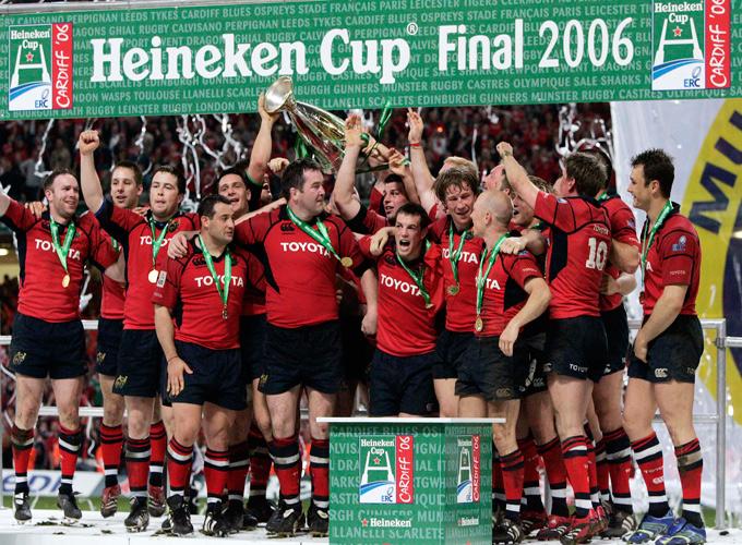 Heineken Cup Victory 2006 – 10 Years Ago Today