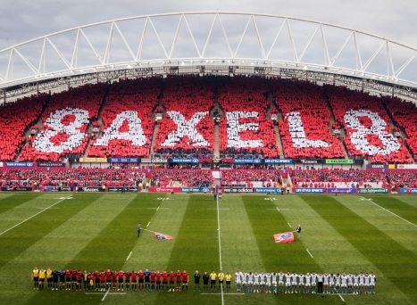 The West Stand in Thomond Park