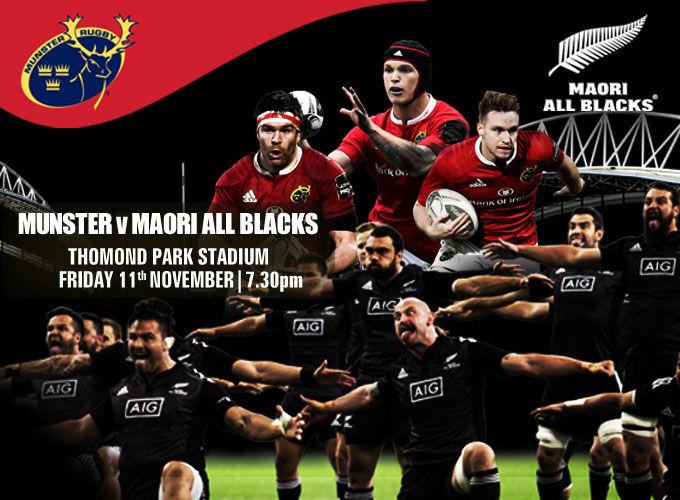 Munster Rugby High School Cbs Clonmel To Train With Maori All Blacks