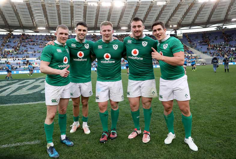 Strong Munster representation on the day including Keith Earls, Conor Murray, John Ryan, Niall Scannell and Ian Keatley. ©INPHO/Dan Sheridan