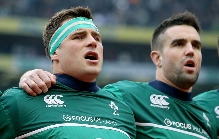 Munster and Ireland duo Conor Murray and CJ Stander.