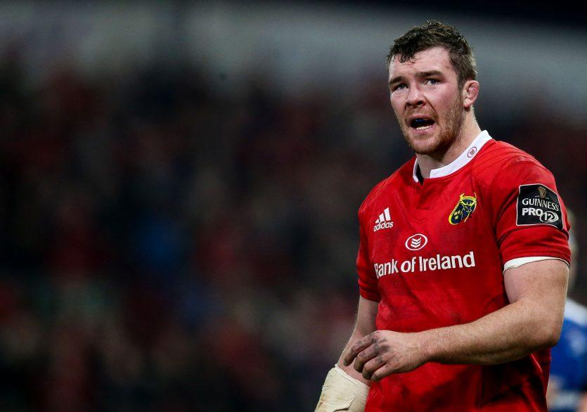 Munster Captain Peter O'Mahony returns for Munster v Zebre ©INPHO/Tommy Dickson