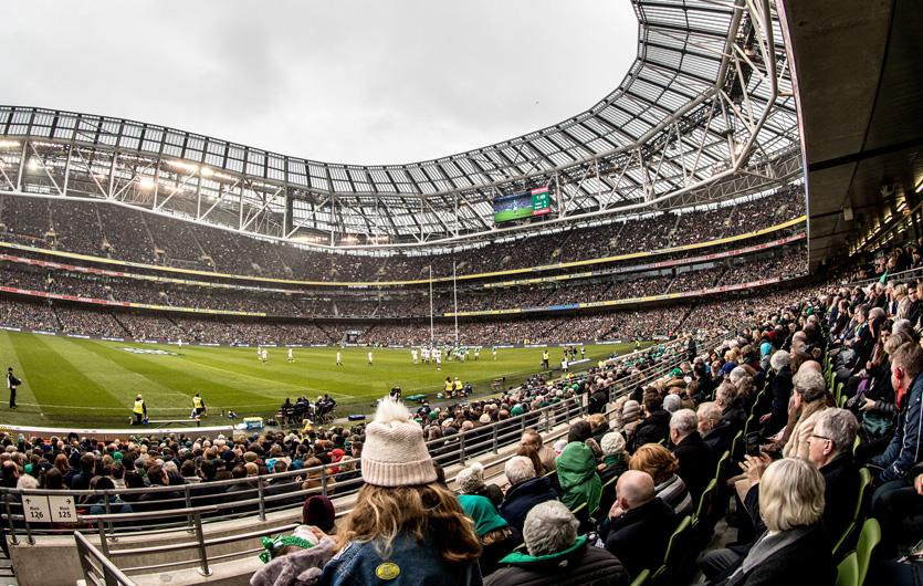 Dublin's Aviva Stadium.