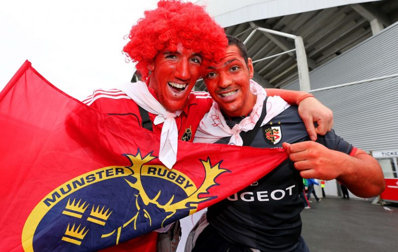 Munster welcome Toulouse supporters back to Thomond Park for the first time since 2014.