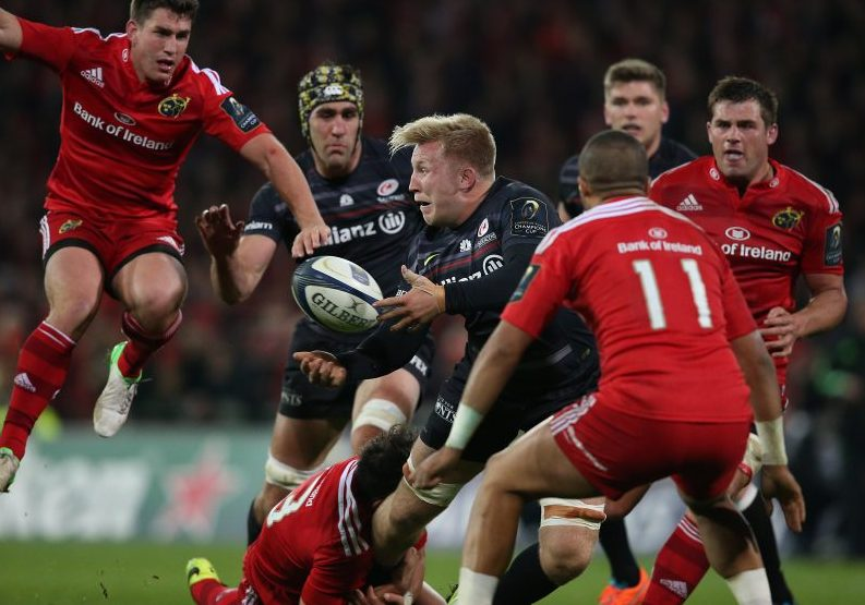 Munster will play Saracens in the Champions Cup semi final ©INPHO/Billy Stickland