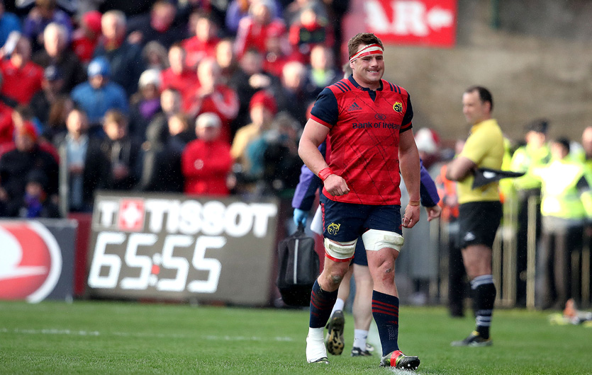 CJ Stander requires further assessment for the ankle sprain he sustained on Saturday.