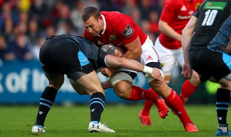 New man Jean Deysel impressed on his debut for Munster on Saturday.