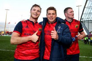 Munster Side Named For Saracens
