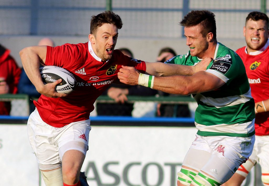 Darren Sweetnam crossed for a brace of tries in Treviso this evening.