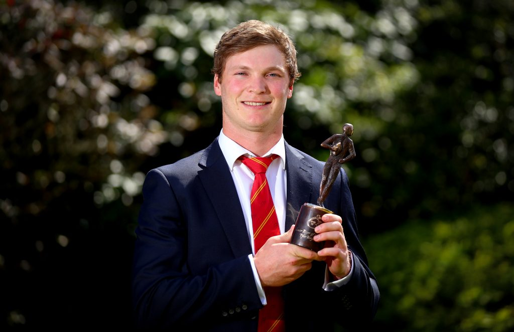 Munster Player of the Year Tyler Bleyendaal